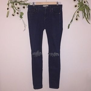 Torn-Knee Skinny Jeans by Madewell